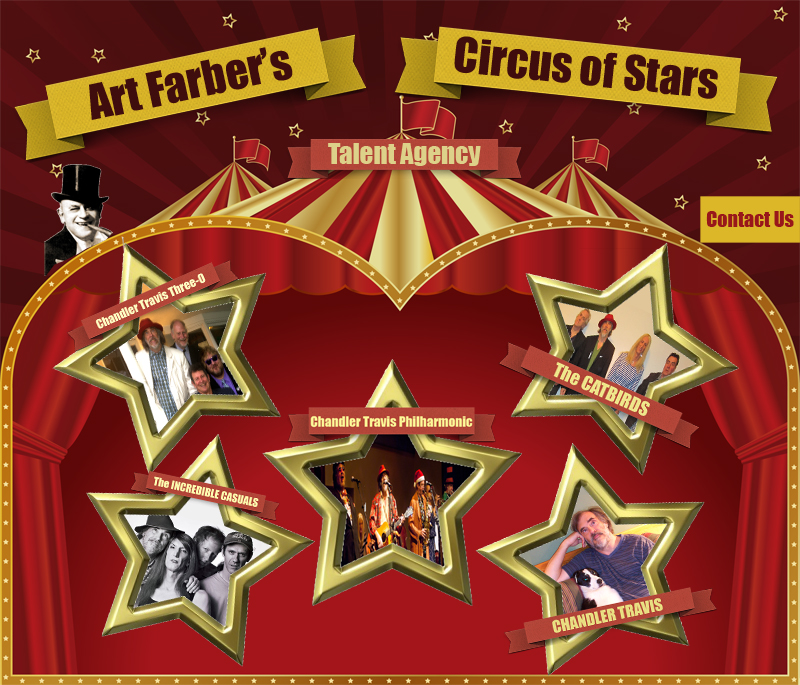 Art Farber's Circus of Stars Talent Agency and Musician Representation